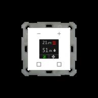 MDT Ruimtetemperatuurregelaar Smart 55 zuiver wit glanzend