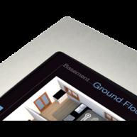 """ThinKnx Zilveren lijst voor Envision Touch Server 7"""""""