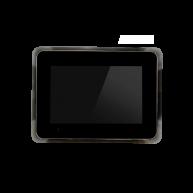 Touch-pc 12 inch zwart glas inbouw