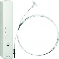 Hager KNX RF helderheidssensor batterijvoeding wit