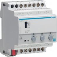 Hager Schakel-/dimuitgang 3-voudig 1 - 10 V