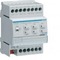 Hager KNX Easy verwarmingsactor + regeling 6-voudig 24/230VAC