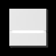 Basalte Via walkway light front - satin white
