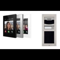 Zennio GetFace IP intercom set voor 2 of meer woningen