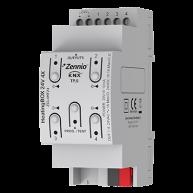 Zennio HeatingBOX verwarmingsactor 24 V AC/DC 4 kanaals