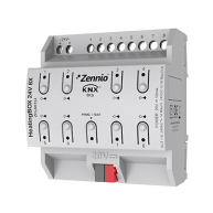 Zennio HeatingBOX verwarmingsactor 24 V AC/DC 8 kanaals