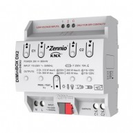 Zennio DIMinBOX DX2 dimmer (RLC, LED, CFL)