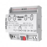 Zennio DIMinBOX DX2 dimmer (RLC, LED, CFL) 2 kanalen 310W