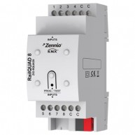 Zennio KNX RailQuad 8 analoge / digitale ingang