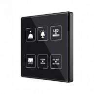 Zennio TMD Square - 6 toetsen met temperatuur probe - custom design