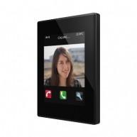 Zennio Z41 COM zwart met app - kunststof frame