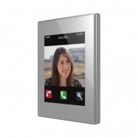 Zennio Z41 COM zilver met app - kunststof frame