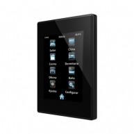 Zennio Z41 Lite zwart - kunststof frame