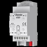 Zennio KNX-interface voor energie meters met impulsuitgangen