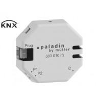 Hugo Müller Paladin KNX/RF pulsdrukker interface 2 voudig inbouw (S-mode)