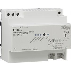 Gira KNX voeding 1280mA met geïntegreerde smoorspoel