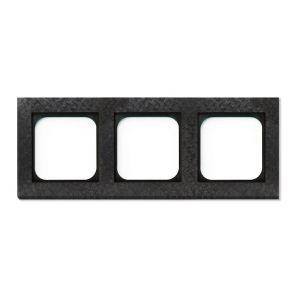 Basalte Frame - 3 gang - fer forgé gunmetal
