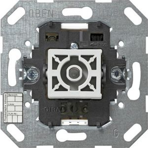 Gira KNX Drukcontact-busaankoppelaar enkelvoudig met éénpuntsbediening en status-LED