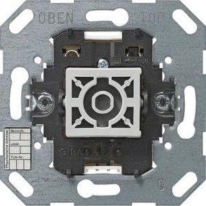 Gira KNX Drukcontact-busaankoppelaar enkelvoudig met tweepuntsbediening en status-LED