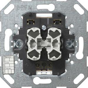 Gira KNX Drukcontact-busaankoppelaar tweevoudig met tweepuntsbediening