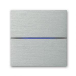 Basalte Sentido front - dual - brushed aluminium