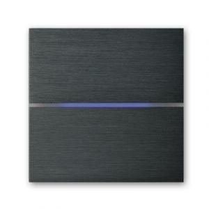 Basalte Sentido front - dual - brushed dark grey