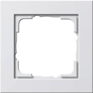 Gira afdekraam 1v zuiver wit glanzend E2