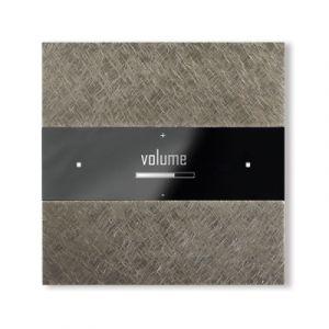 Basalte Deseo front - fer forgé grey