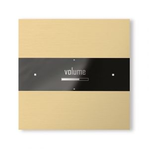 Basalte Deseo front - brushed brass