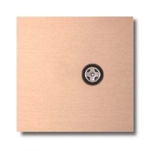 Basalte Socket - Afdekraam enkelvoudig CAI - rosé