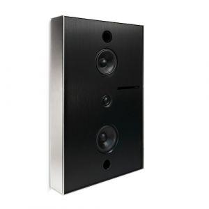 Basalte Aalto D3 - active network speaker - brushed nickel