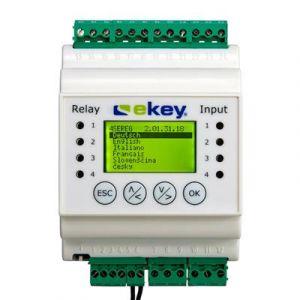 Ekey Home CP DRM 4 bedieningspaneel DIN-rail met 4 relais
