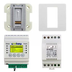 Ekey Home set vingerscanner met bedieningspaneel 1 relais