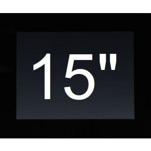 "Touch PC 15"" zwart (excl. Besturingssysteem)"