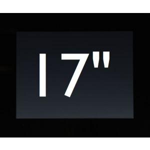 "Touch PC 17"" zwart (excl. Besturingssysteem)"