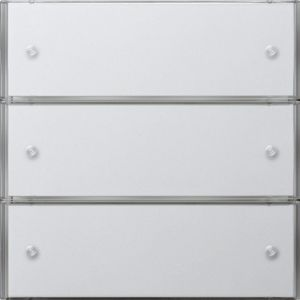 Gira Tastsensor 3 Basis drievoudig zuiver wit glanzend F100