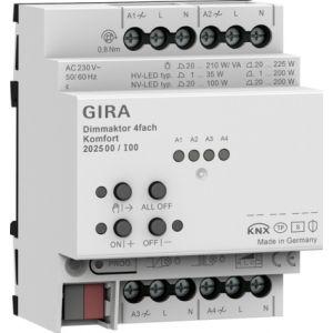 Gira KNX dimactor 4-voudig comfort 4 x 225 W/VA