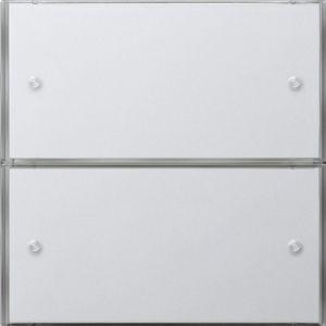 Gira Tastsensor 3 Comfort tweevoudig zuiver wit glanzend F100