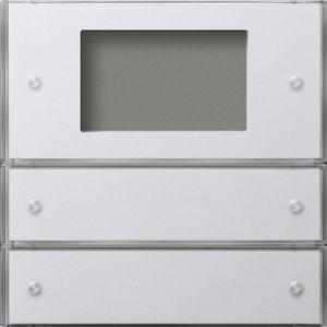 Gira Tastsensor 3 Plus tweevoudig zuiver wit glanzend F100