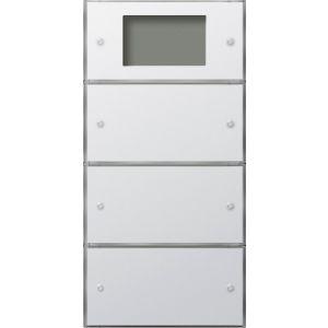 Gira Tastsensor 3 Plus drievoudig (1+2) zuiver wit glanzend F100
