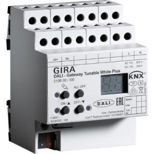 Gira KNX DALI-gateway Tunable White Plus