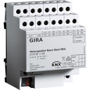 Gira KNX Verwarmingsactor basic 6-voudig
