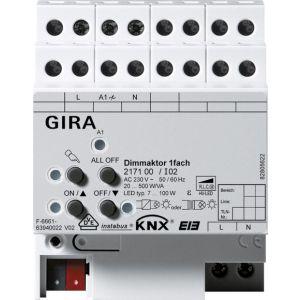 Gira KNX Universele dimactor enkelvoudig 20 - 500 W/VA