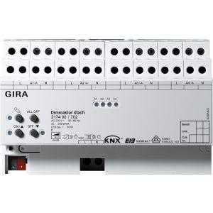 Gira KNX dimactor viervoudig 4 x 250 W/VA