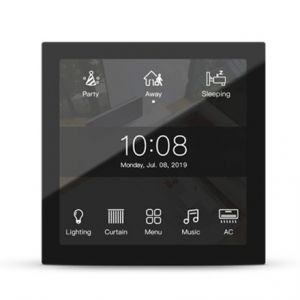 HDL M/PTL4.1-48 KNX Granite Display 4-inch touchdisplay - space grey rand