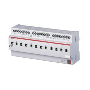 ABB Schakelactor i-bus KNX uitgang 12x16/20AX I-det DIN-rail SA/S 12.16.6.1