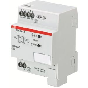ABB Systeeminterface i-bus KNX DALI-gateway basic 2v DIN-rail DG/S2.64.1.1