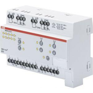 ABB KNX Controller verwarmings-/koelcircuit 3-punts 2 v handbediening
