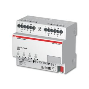 ABB KNX LED Dimmer 4 voudig 210 W/VA UD/S4.210.2.11