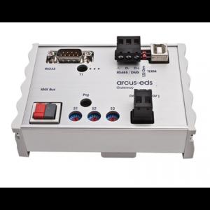 KNX - RS232/RS485 gateway bi-directioneel
